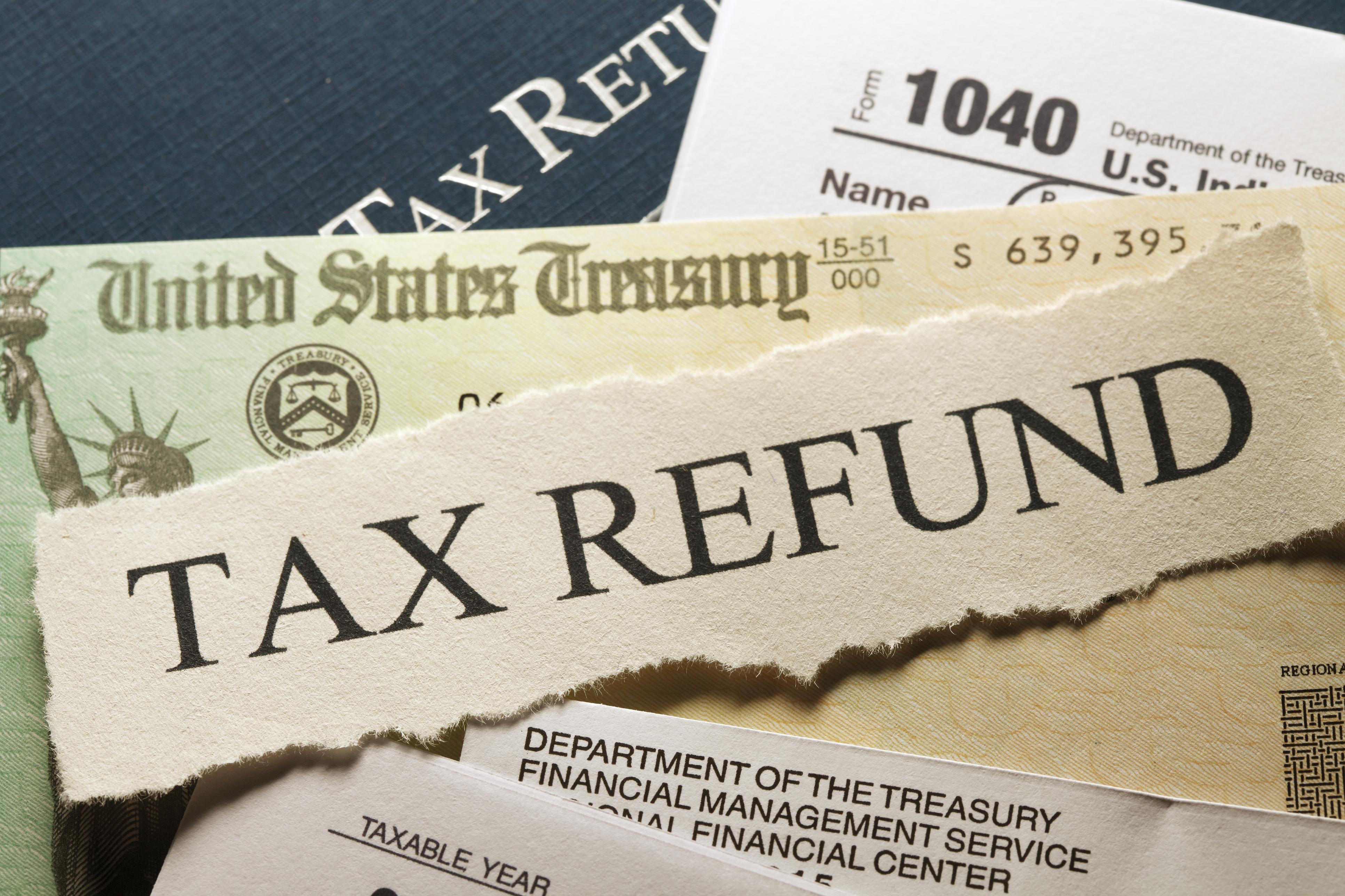 Income tax refund.
